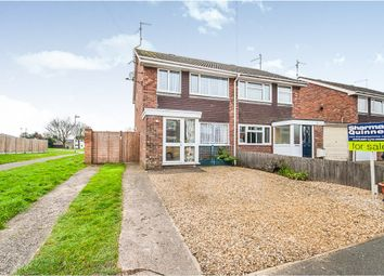 Thumbnail 3 bed semi-detached house for sale in Nobles Close, Coates, Peterborough