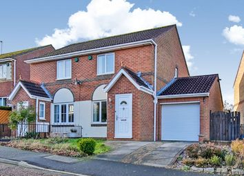 Thumbnail 2 bed semi-detached house for sale in Cowell Grove, Highfield, Rowlands Gill