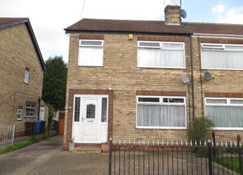 Thumbnail 3 bed semi-detached house for sale in Parkside Close, Hull