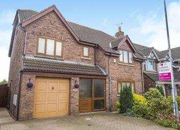 Thumbnail 6 bed detached house for sale in Brooklands, Sutton-On-Hull, Hull