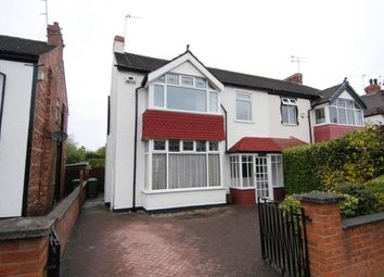 Thumbnail 4 bed semi-detached house for sale in Rycroft Road, Meols, Wirral, Merseyside