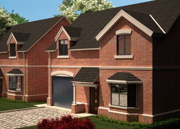 Thumbnail 4 bed detached house for sale in Stanton Road, Burton-On-Trent