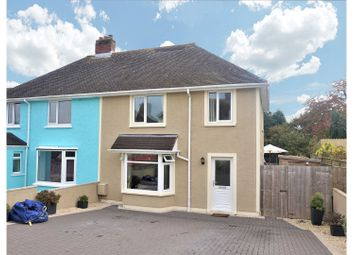 Thumbnail 3 bed semi-detached house for sale in Poyers Avenue, Pembroke