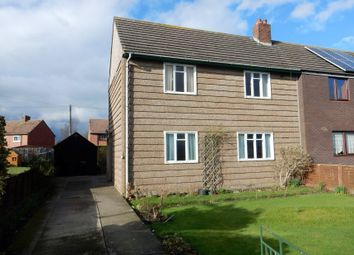 Thumbnail 3 bed semi-detached house for sale in 113 Moor Road, Longtown, Cumbria