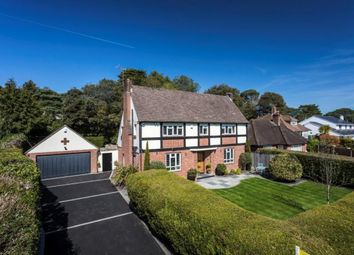 Thumbnail 4 bed detached house for sale in Fairway Road, Canford Cliffs, Poole