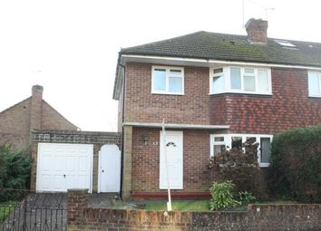 Thumbnail 3 bed semi-detached house for sale in St. Johns, Woking, Surrey