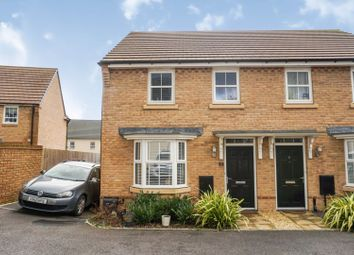 Thumbnail 3 bed semi-detached house for sale in Rhodfa'r Morwydd, Penarth