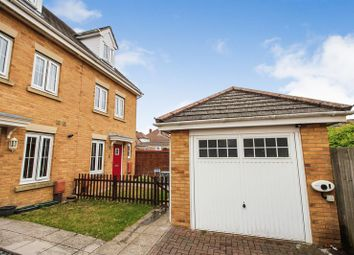 Thumbnail 3 bed semi-detached house for sale in Sartoris Close, Warsash, Southampton