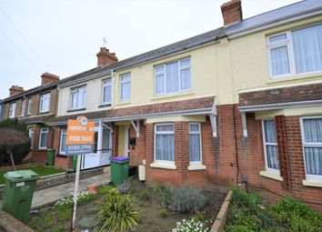 Thumbnail 3 bed terraced house for sale in Weymouth Road, Cheriton, Folkestone