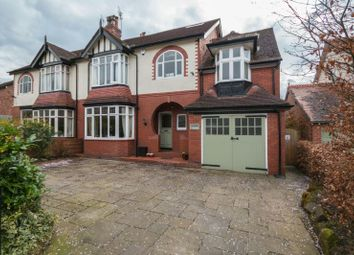 Thumbnail 6 bed semi-detached house for sale in Bower Road, Hale, Altrincham