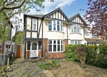 Thumbnail 3 bed semi-detached house for sale in Grange Road, Woodthorpe, Nottingham