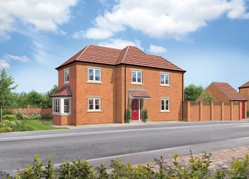 Thumbnail 3 bedroom detached house for sale in Greendale Gardens, Hucknall, Nottinghamshire