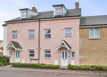 Thumbnail 4 bed town house for sale in Verbena Drive, Wymondham