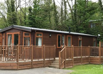 Thumbnail 2 bed mobile/park home for sale in Brentmere Lodge, Sherborne Causeway, Shaftesbury, Dorset