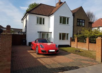 Thumbnail 3 bed semi-detached house for sale in Denning Avenue, Croydon