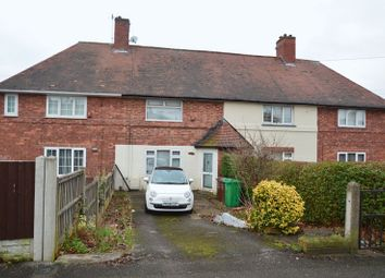 Thumbnail 2 bed terraced house for sale in Broxtowe Lane, Aspley, Nottingham