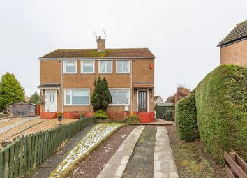 Thumbnail 2 bed semi-detached house for sale in 49 Dolphin Gardens West, Currie