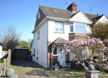 Thumbnail 4 bedroom end terrace house for sale in Turner Road, Broadwater, Worthing, West Sussex