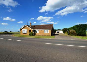 Thumbnail 3 bed detached bungalow for sale in Langtoft Fen, Langtoft, Peterborough