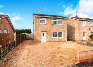 Thumbnail 3 bed detached house for sale in Swan Close, Whittlesey, Peterborough