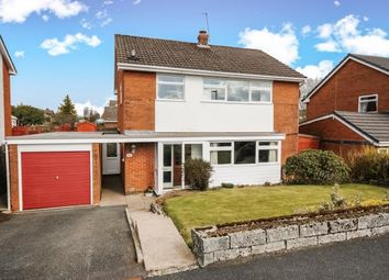 Thumbnail 4 bed detached house for sale in Pentrosfa Road, Llandrindod Wells, Powys