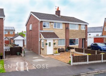Thumbnail 3 bed semi-detached house for sale in Lowther Crescent, Leyland