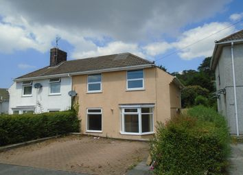 Thumbnail 3 bed semi-detached house to rent in Tyle Teg, Burry Port, Llanelli, Carmarthenshire