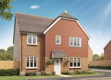 "Thumbnail 4 bedroom detached house for sale in ""The Corfe "" at Stane Street, Billingshurst"