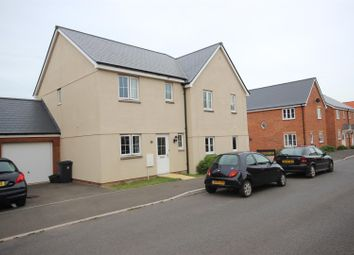 Thumbnail 3 bed semi-detached house for sale in Brooks Warren, Cranbrook, Exeter