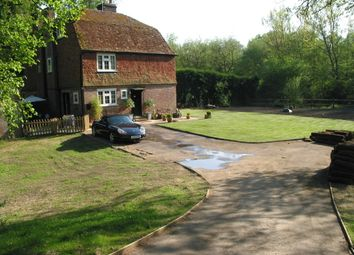 Thumbnail 4 bed semi-detached house to rent in Chiddingstone, Edenbridge, Kent