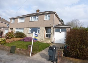 Thumbnail 3 bed semi-detached house for sale in Tiverton Drive, Rumney, Cardiff