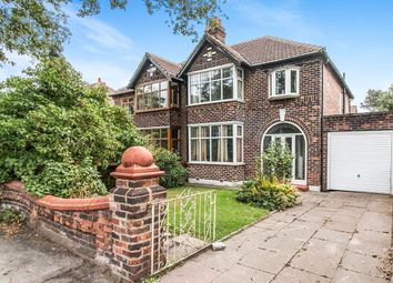 3 bed semi-detached house for sale in Kingsway, Burnage, Manchester M19