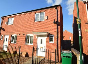 Thumbnail 2 bed semi-detached house for sale in Leonard Street, Bulwell, Nottingham