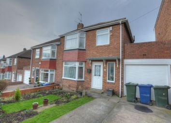Thumbnail 3 bed semi-detached house for sale in Bellister Grove, Fenham, Newcastle Upon Tyne