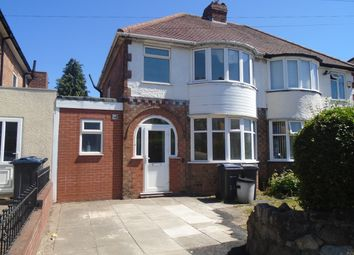 Thumbnail 3 bed semi-detached house to rent in Herondale Road, Yardley, Birmingham