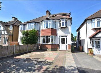 Thumbnail 4 bed semi-detached house for sale in Derek Avenue, Wallington, Surrey