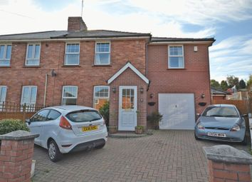 Thumbnail 4 bed semi-detached house for sale in Stunning Extended Family House, Roman Way, Caerleon