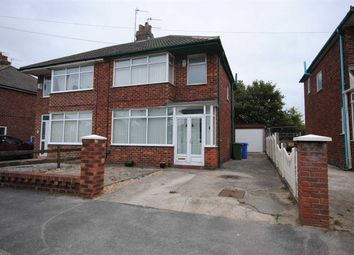 Thumbnail 3 bed semi-detached house to rent in Springfield Drive, Thornton-Cleveleys