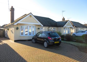 Thumbnail 2 bedroom semi-detached bungalow to rent in Cornhill Avenue, Hockley