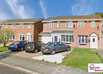 Thumbnail 4 bed semi-detached house for sale in Hawkswell Drive, Willenhall
