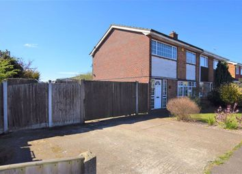 Thumbnail 3 bed semi-detached house for sale in Fairfax Road, Tilbury, Essex
