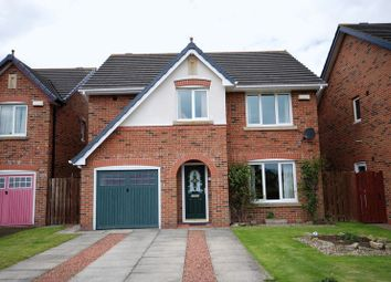 Thumbnail 4 bed detached house for sale in Burghley Gardens, Pegswood, Morpeth