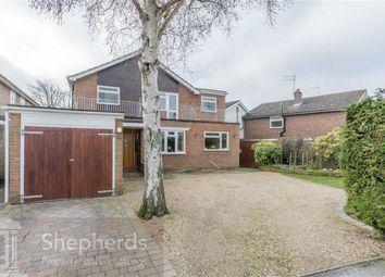 Thumbnail 4 bedroom detached house for sale in Postwood Green, Hertford Heath, Hertford