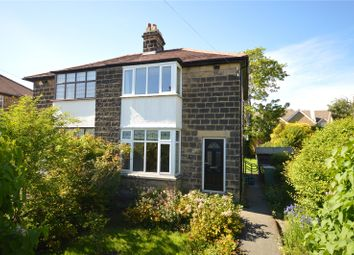 Thumbnail 3 bed semi-detached house for sale in Renton Avenue, Guiseley, Leeds, West Yorkshire