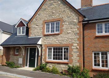 Thumbnail 3 bed semi-detached house for sale in New Development, Chickerell, Help To Buy Available