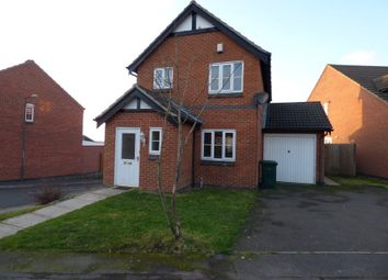 Thumbnail 3 bed detached house to rent in Outram Drive, Swadlincote, Derbyshire
