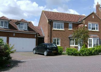 Thumbnail 5 bedroom detached house to rent in Battalion Drive, Simpson Manor, Northampton