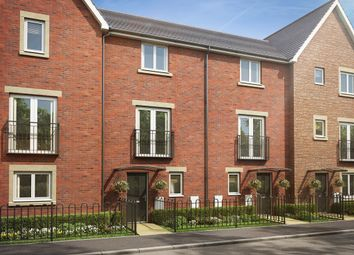 "Thumbnail 3 bedroom town house for sale in ""The Cedar"" at Brickburn Close, Hampton Centre, Peterborough"
