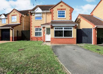 Thumbnail 3 bedroom detached house for sale in Rosyth Avenue, Orton Southgate, Peterborough