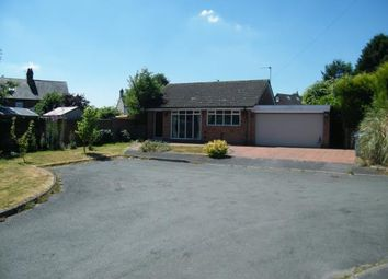 Thumbnail 3 bed bungalow for sale in Forge Close, Hammerwich, Burntwood